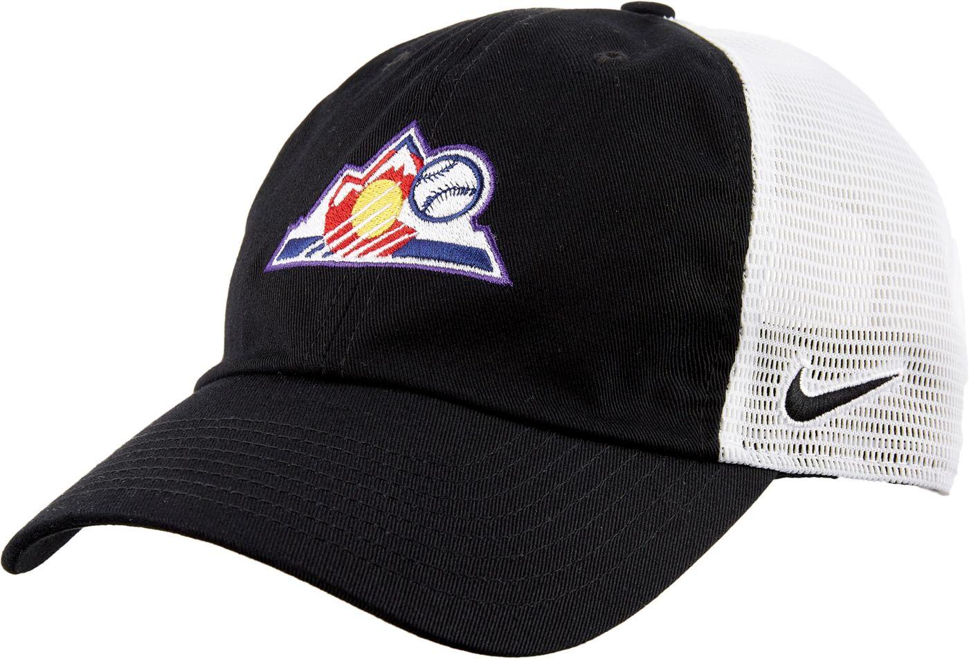 Nike Men's Colorado Rockies H86 Trucker Adjustable Hat