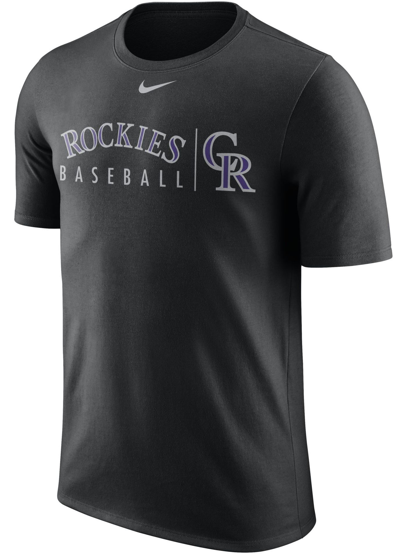 Nike Men's Colorado Rockies Practice T-Shirt