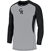 Nike Men's Colorado Rockies Authentic Collection Dri-FIT Long Sleeve Top