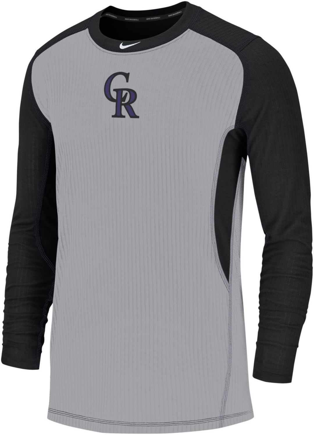 5ba60b4004 Nike Men's Colorado Rockies Authentic Collection Dri-FIT Long Sleeve Top
