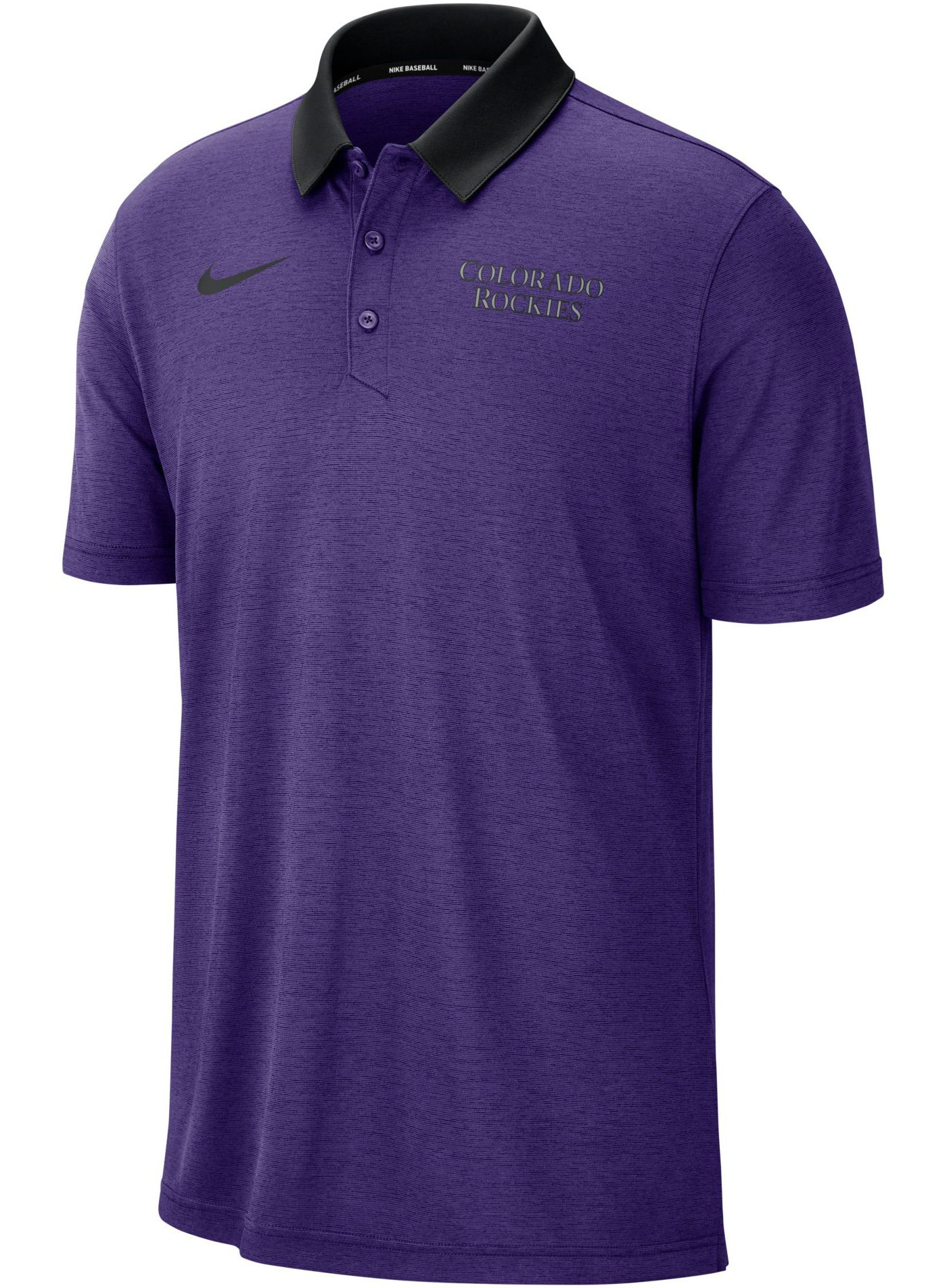 Nike Men's Colorado Rockies Breathe Polo