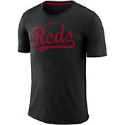 Nike Men's Cincinnati Reds Tri-Blend T-Shirt