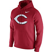 Nike Men's Cincinnati Reds Club Red Pullover Hoodie