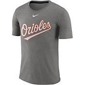Nike Men's Baltimore Orioles Tri-Blend T-Shirt