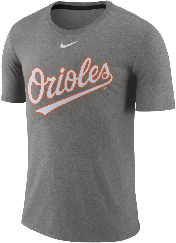 official photos 87542 309d4 Nike Men's Baltimore Orioles Tri-Blend T-Shirt