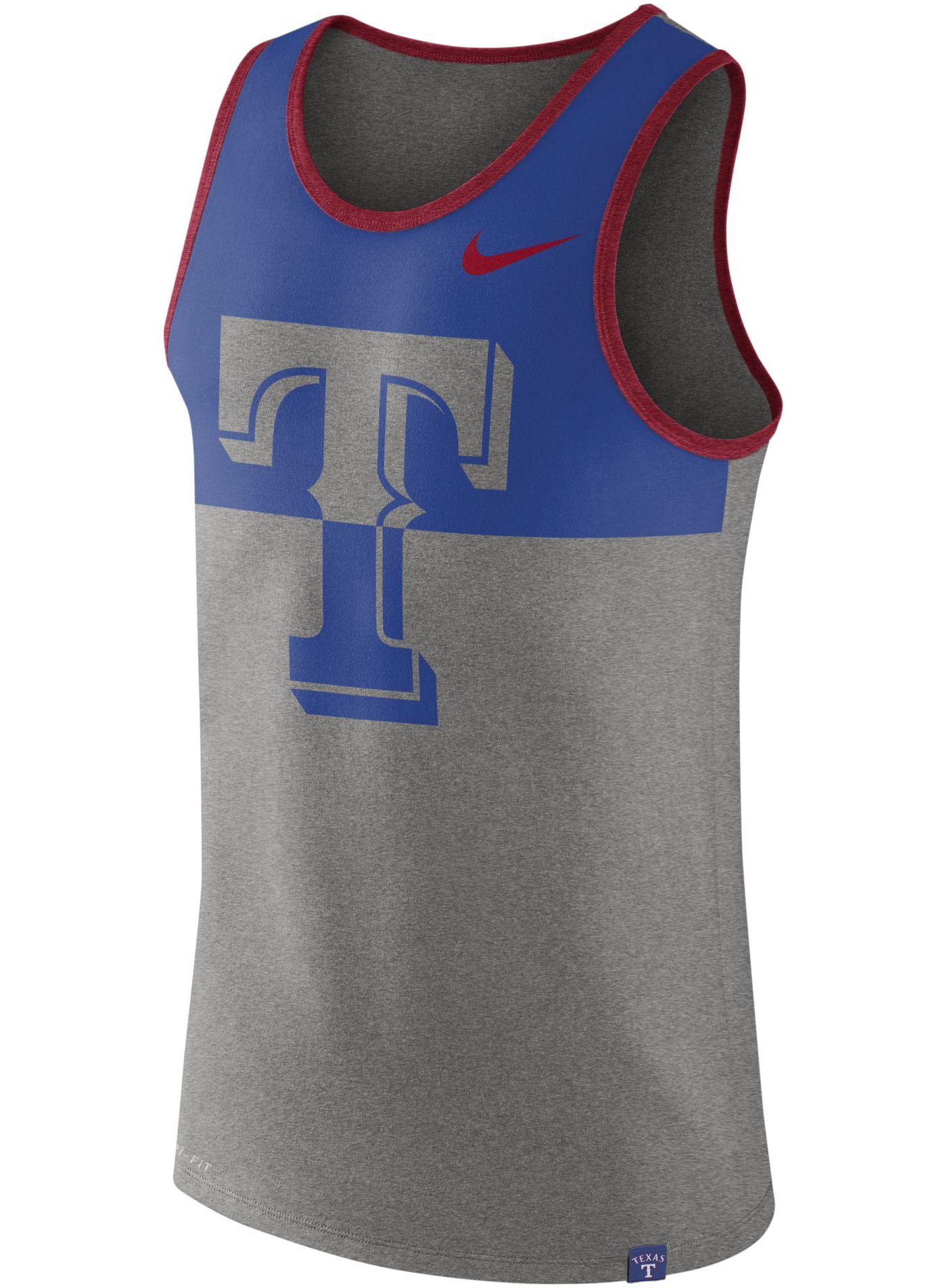 Nike Men's Texas Rangers Dri-FIT Tank Top