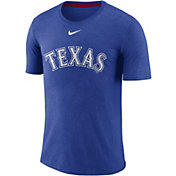 Nike Men's Texas Rangers Tri-Blend T-Shirt
