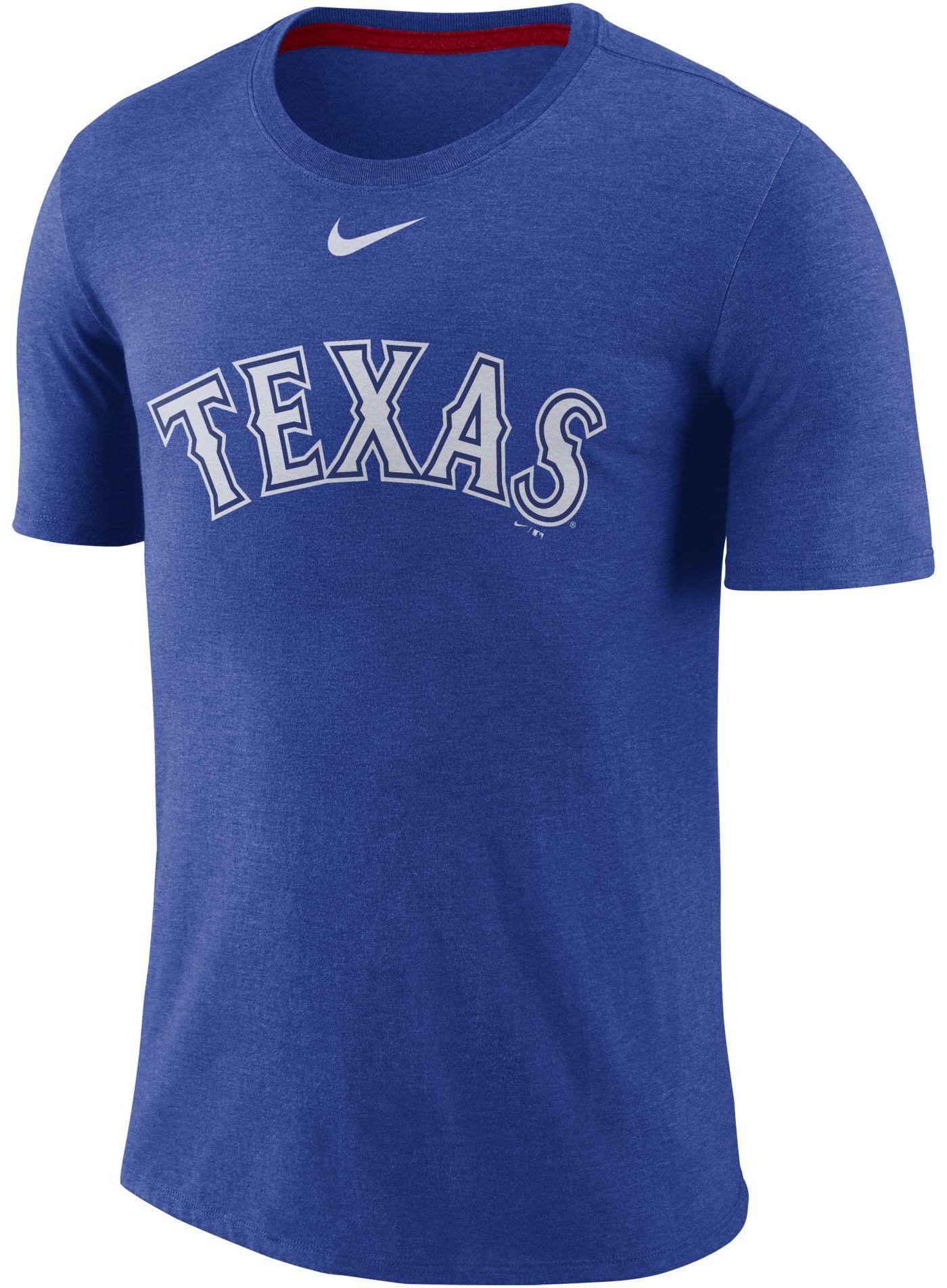 Nike Men's Texas Rangers Tri-Blend T-Shirt