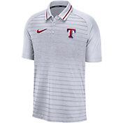 Nike Men's Texas Rangers Striped Polo