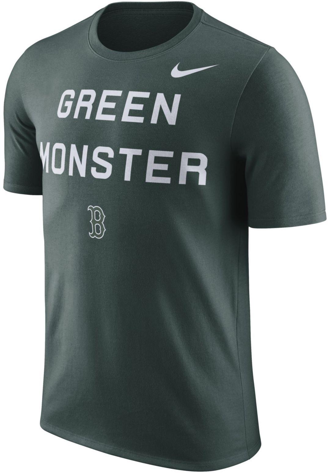 new product af48b b30a5 Nike Men's Boston Red Sox Dri-FIT