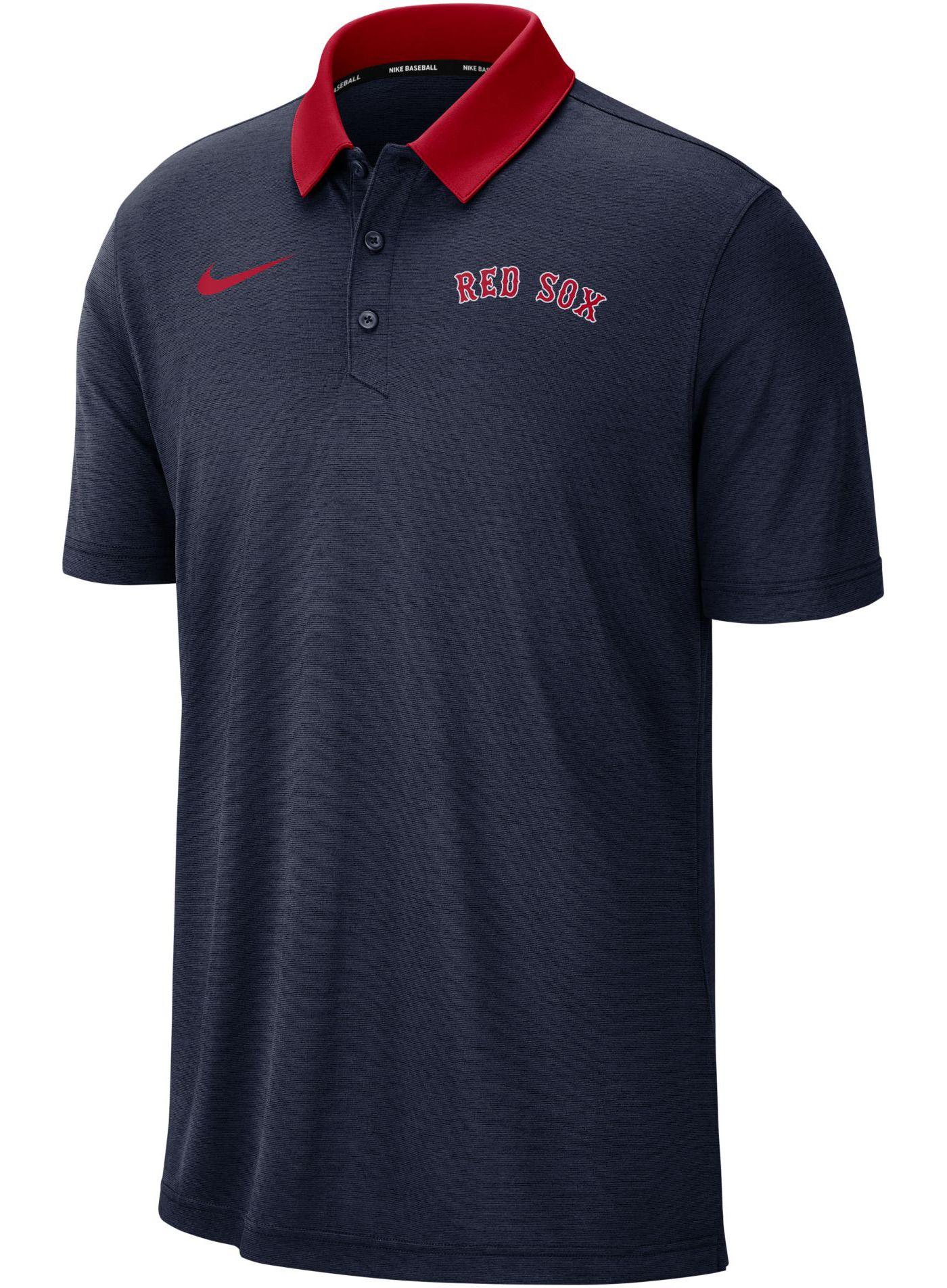 Nike Men's Boston Red Sox Breathe Polo