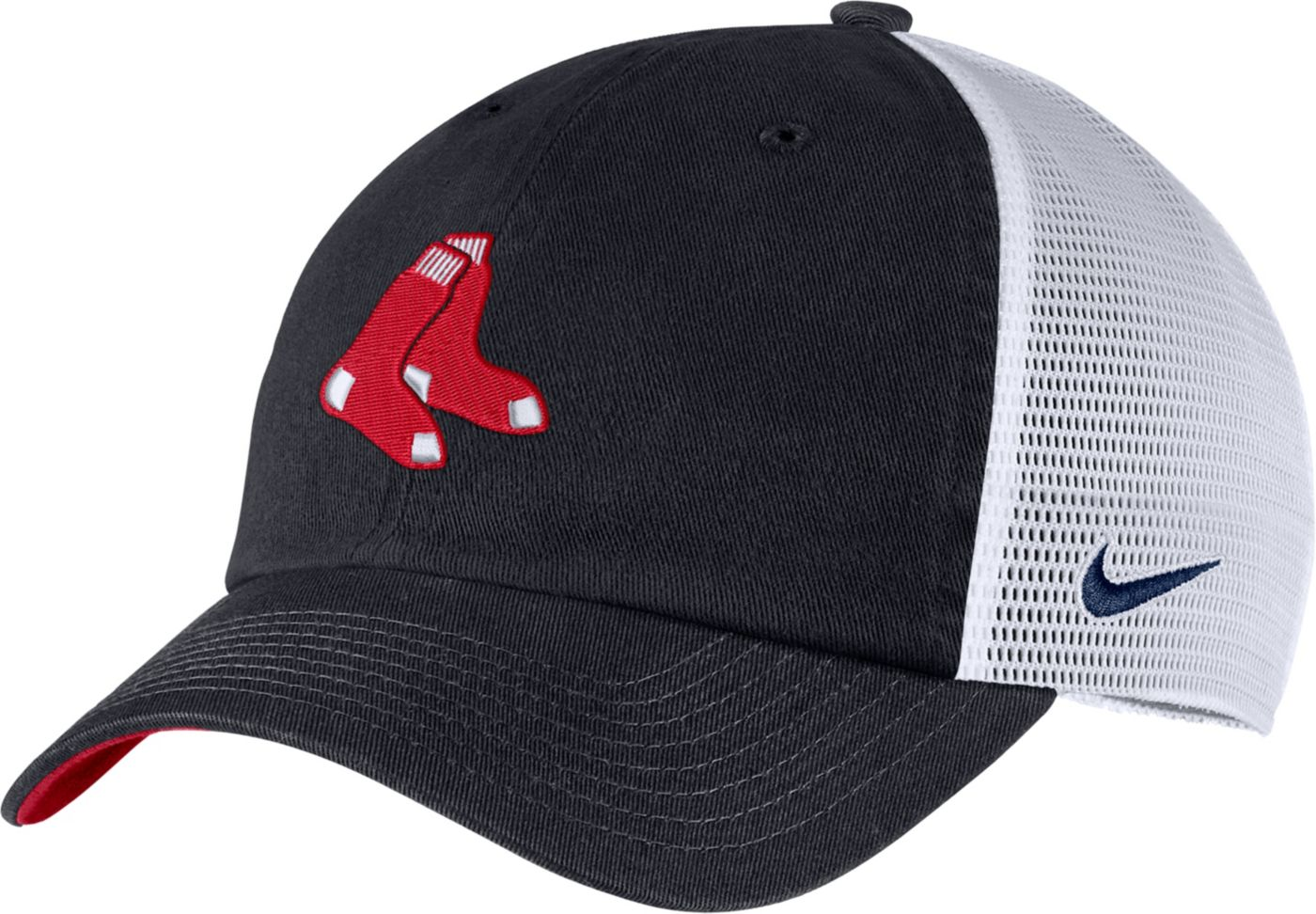 Nike Men's Boston Red Sox H86 Trucker Adjustable Hat