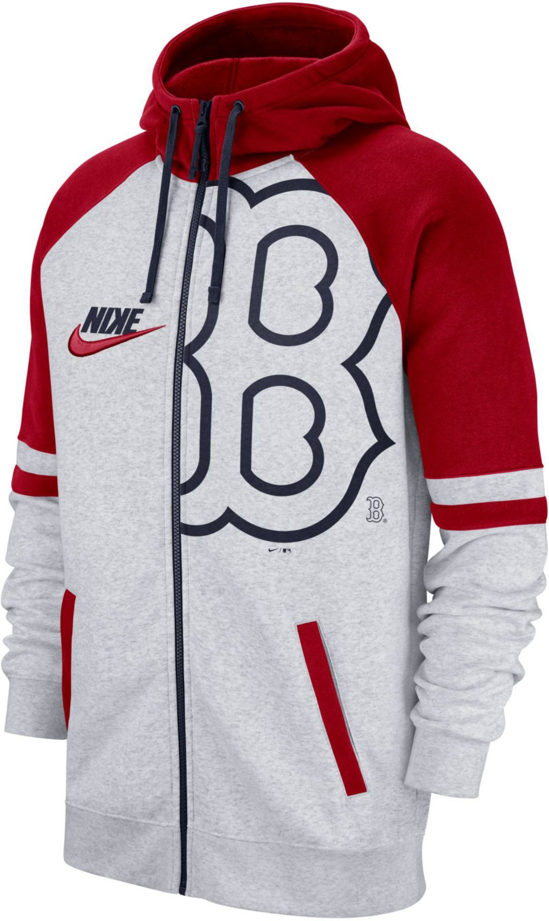 the best attitude ee83d 7e3ed Nike Men's Boston Red Sox Full-Zip Hoodie
