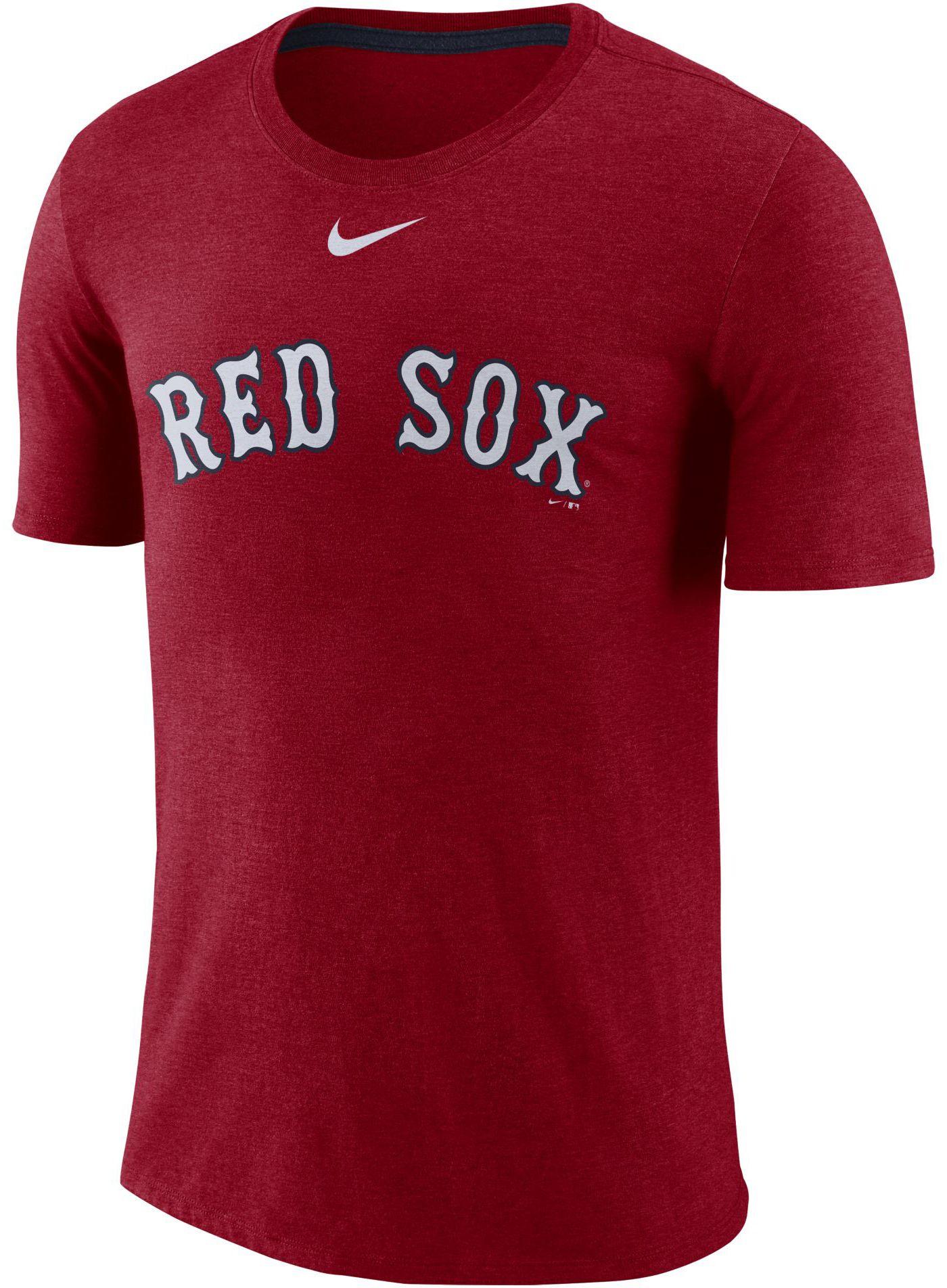 Nike Men's Boston Red Sox Tri-Blend T-Shirt