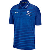 Nike Men's Kansas City Royals Striped Polo