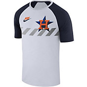 Nike Men's Houston Astros Dri-FIT Raglan T-Shirt