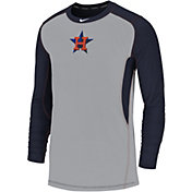 Nike Men's Houston Astros Authentic Collection Dri-FIT Long Sleeve Top