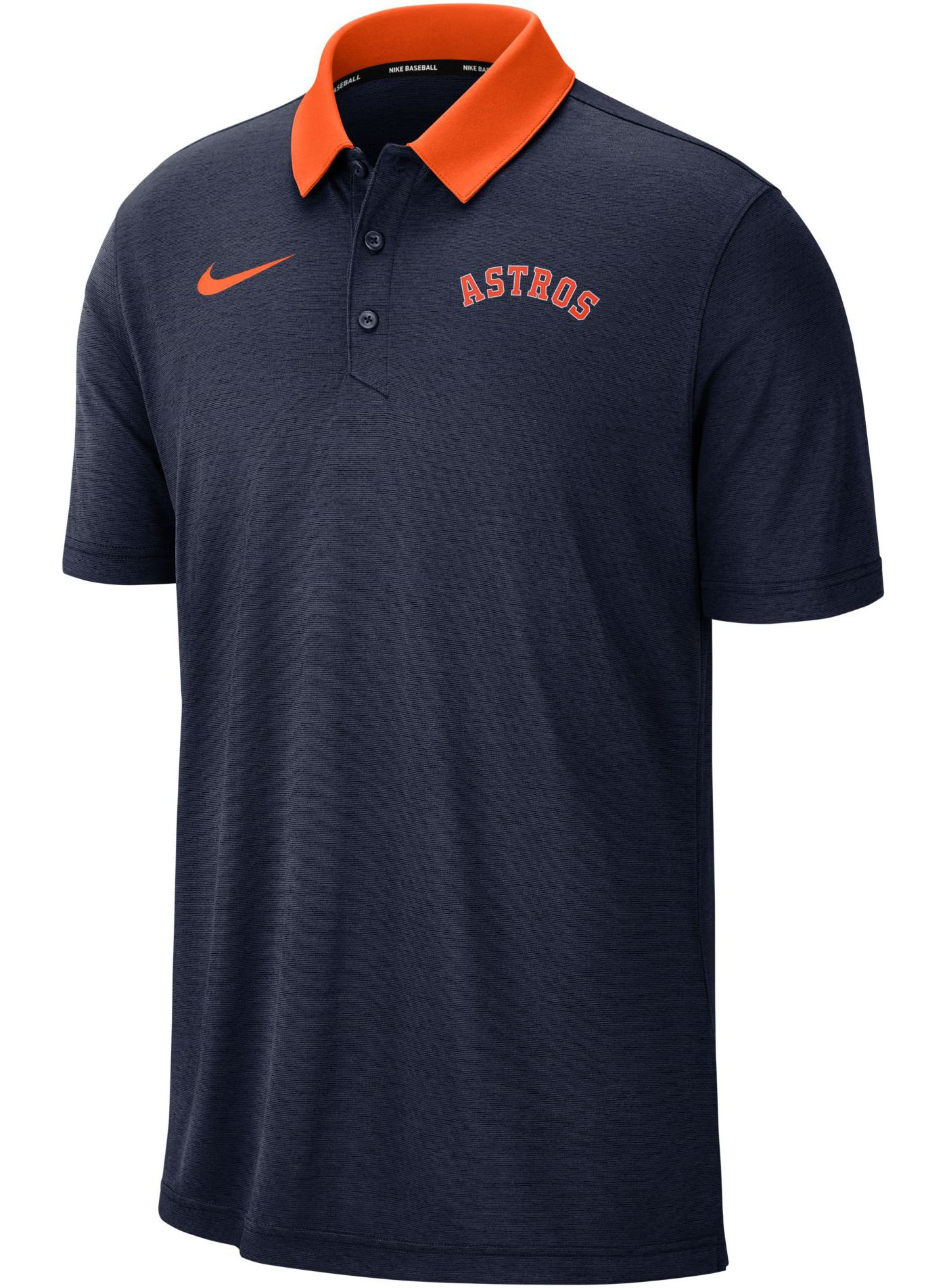 Nike Men's Houston Astros Breathe Polo