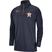 Nike Men's Houston Astros Dri-FIT Elite Half-Zip Pullover
