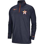 f9a1d6f26cc1d Product Image · Nike Men s Houston Astros Dri-FIT Elite Half-Zip Pullover