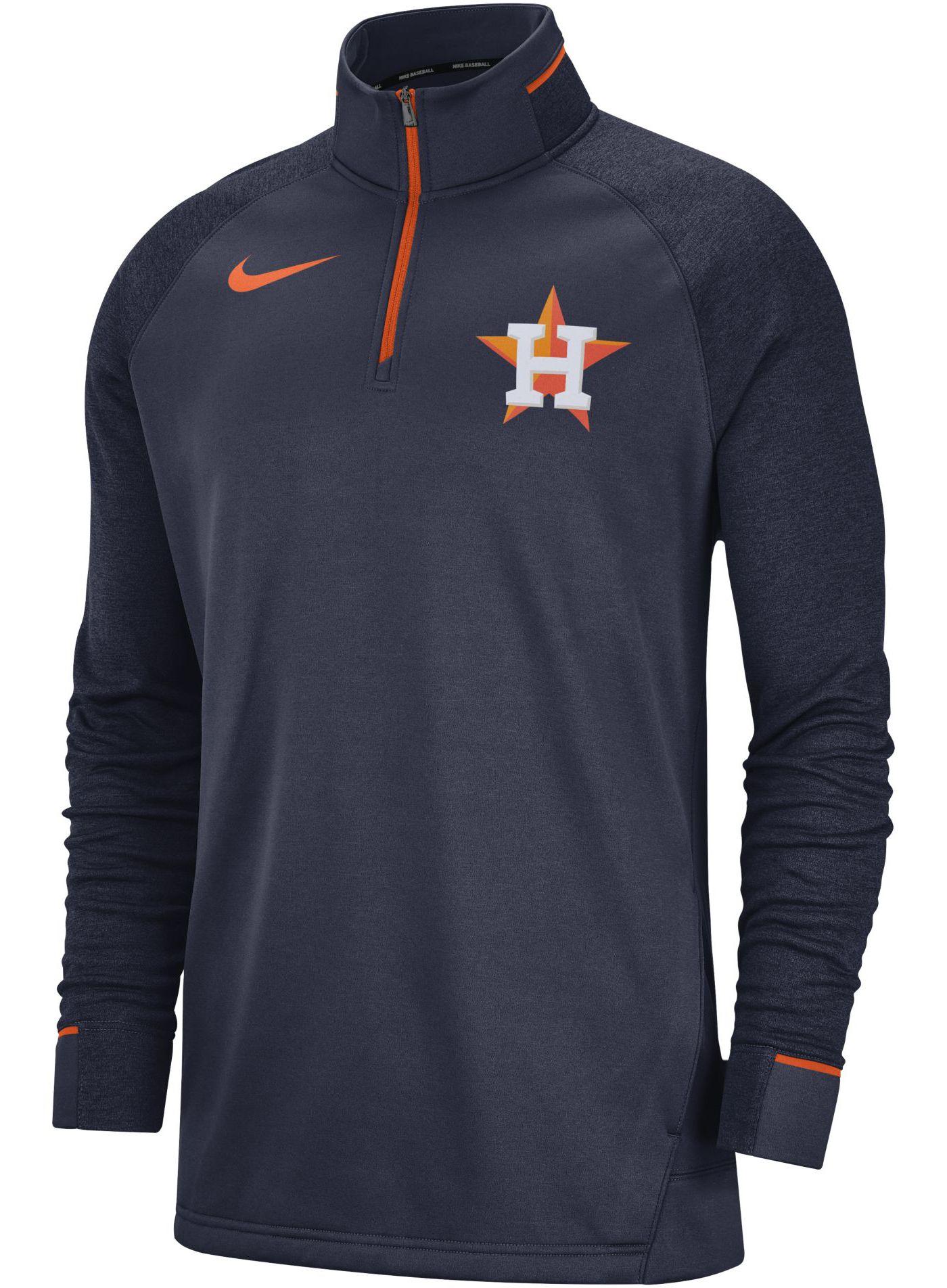Nike Men's Houston Astros Dri-FIT Elite Half-Zip Pullover