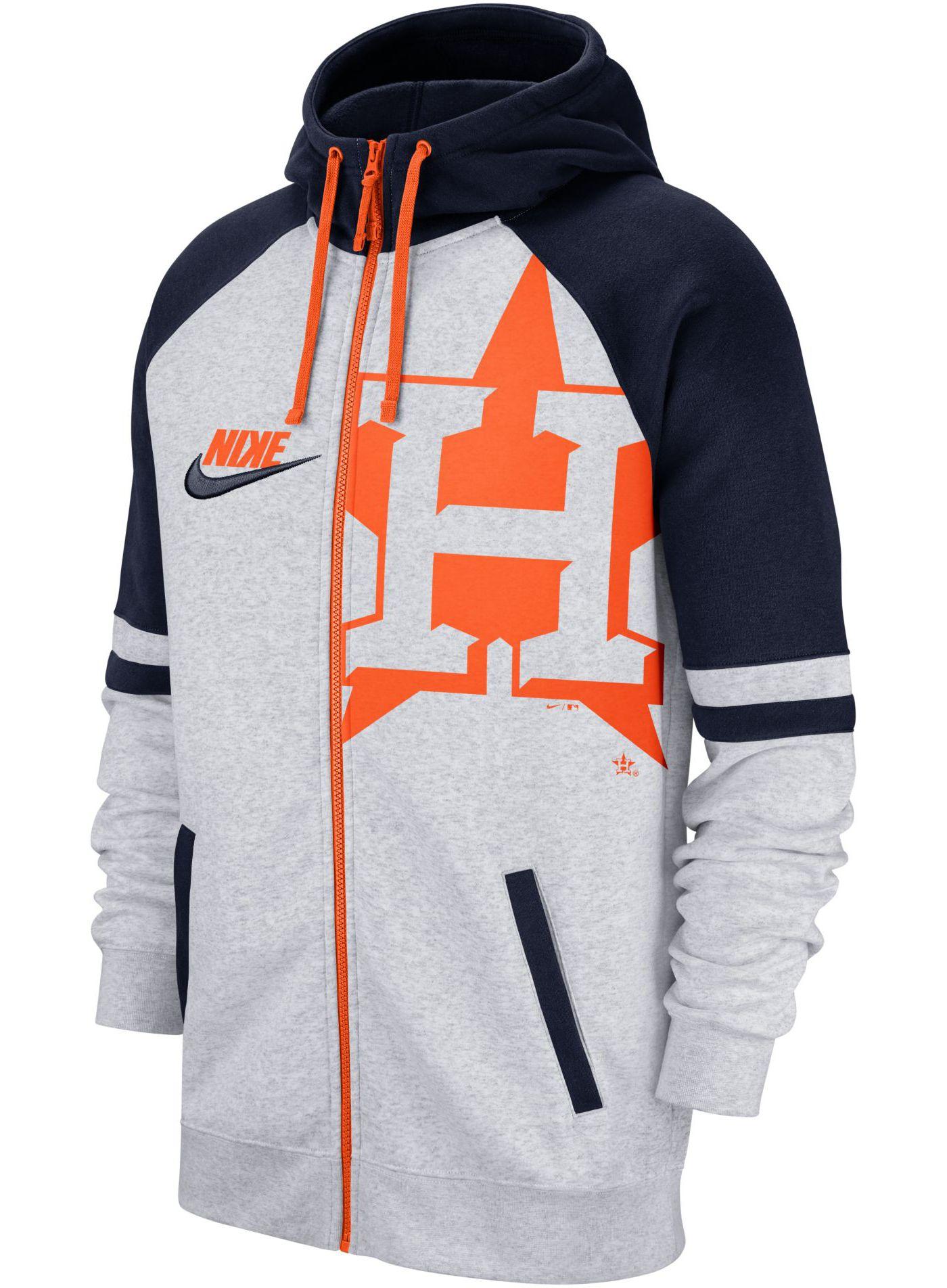 Nike Men's Houston Astros Full-Zip Hoodie