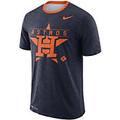 Nike Men's Houston Astros Dri-FIT Slub Logo T-Shirt