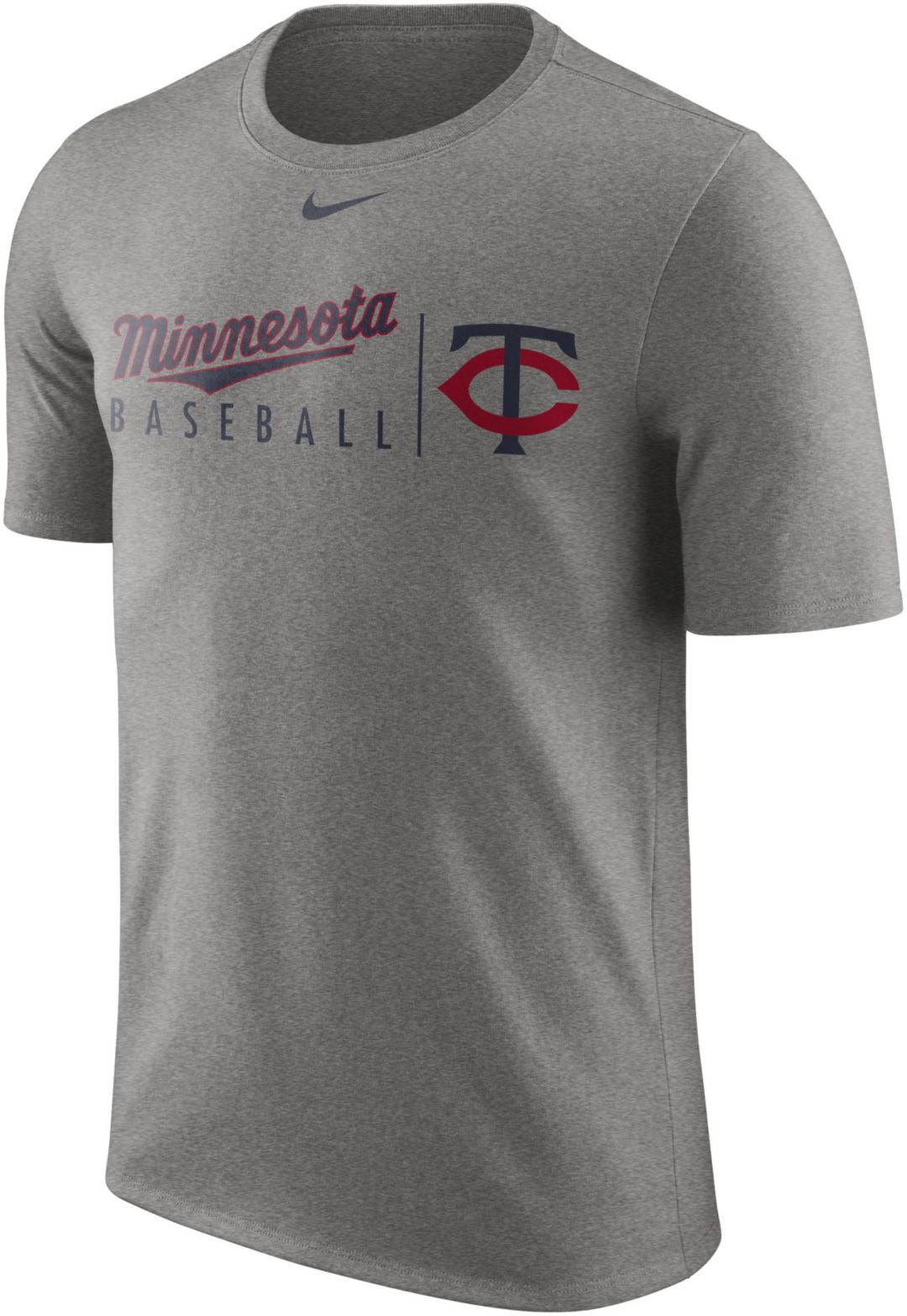 separation shoes 0b089 bd820 Nike Men s Minnesota Twins Practice T-Shirt 1