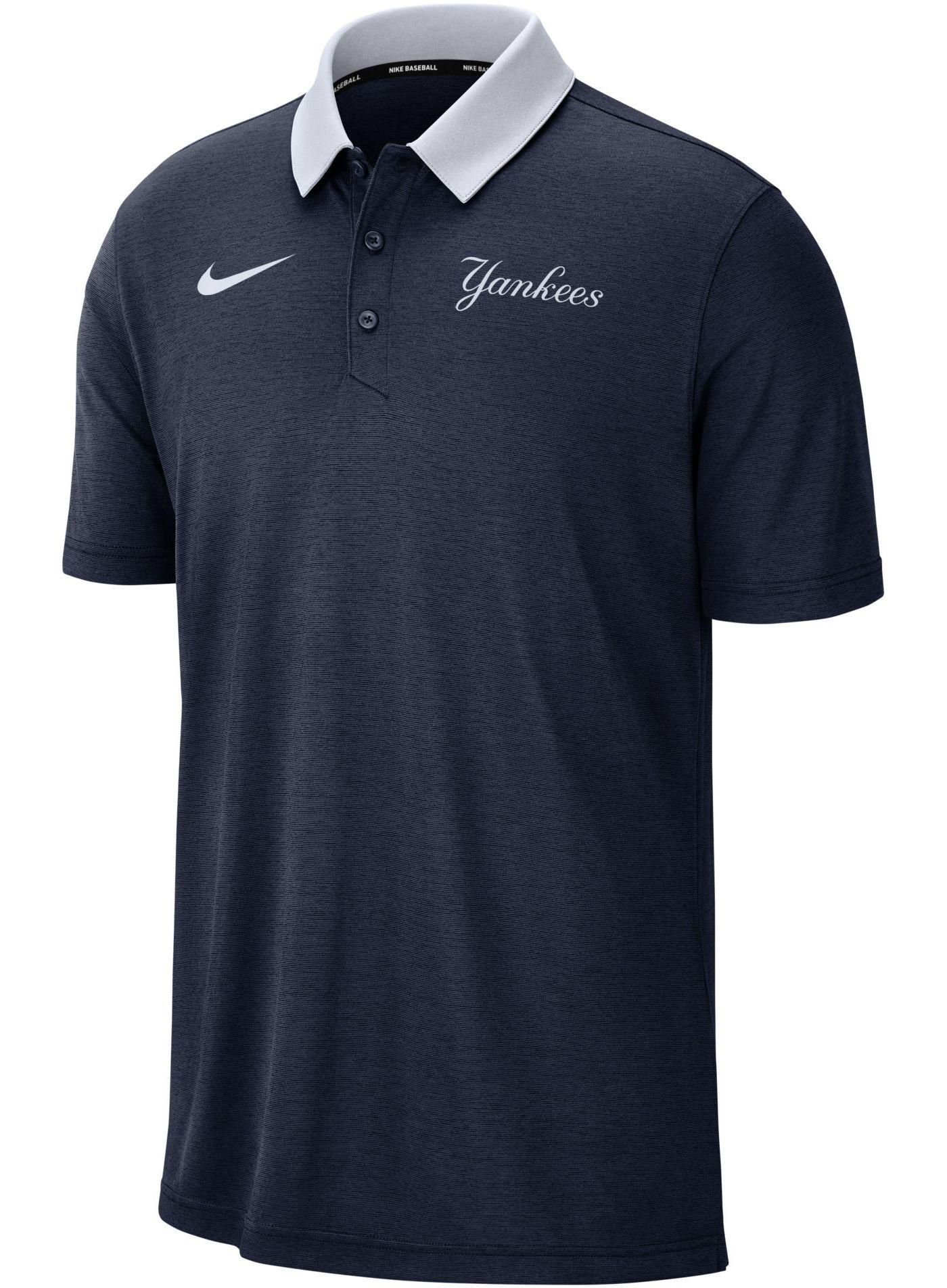 Nike Men's New York Yankees Breathe Polo