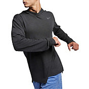 Nike Men's Hyper Dry Hooded Long Sleeve Tee (Regular and Big & Tall)