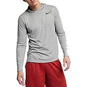 Nike Men's Hyper Dry Hooded Long Sleeve Tee