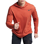 Nike Men's Hyper Dry Hooded Long Sleeve Tee