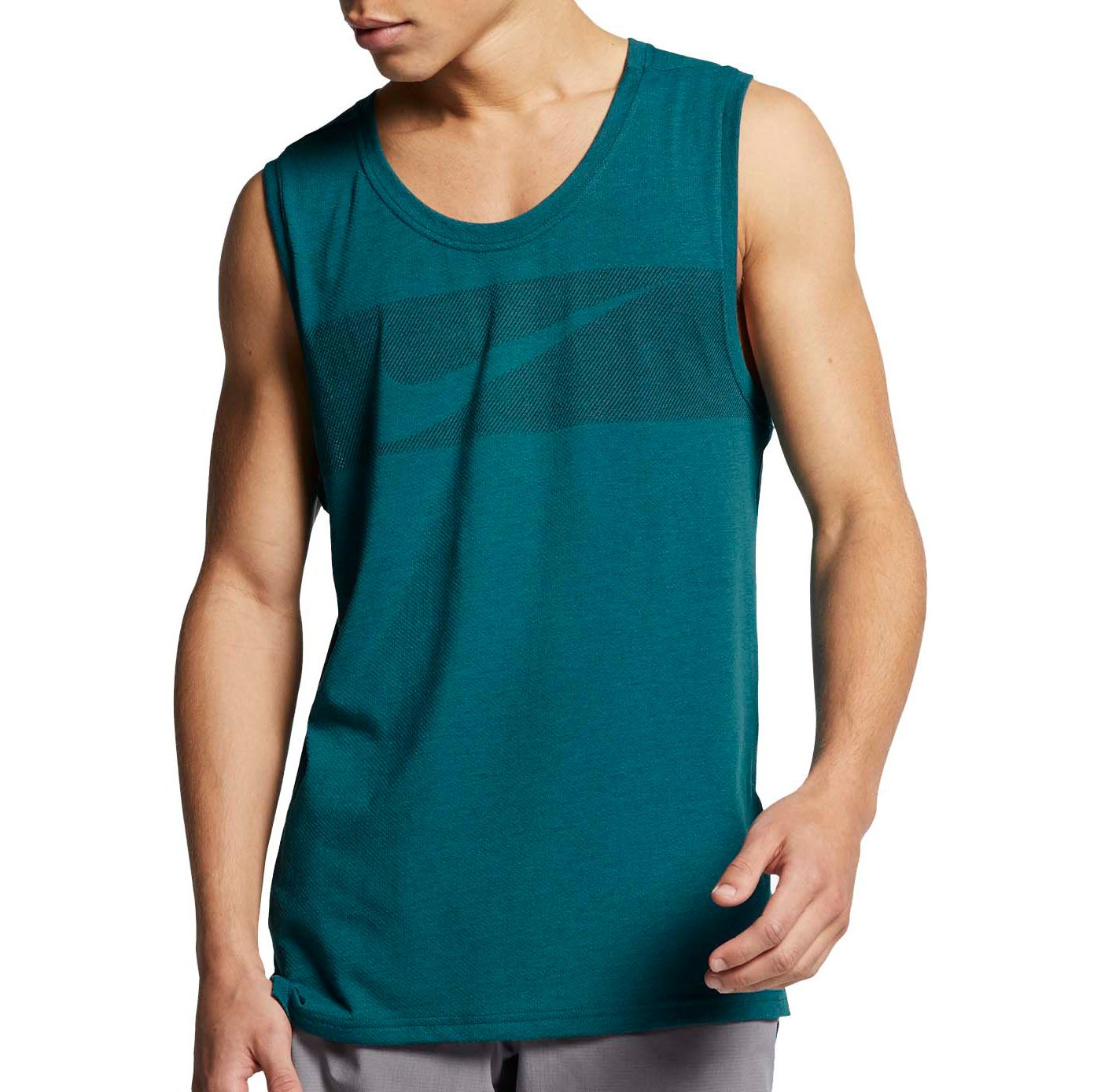 Nike Men's Breathe HyperDry Graphic Tank Top