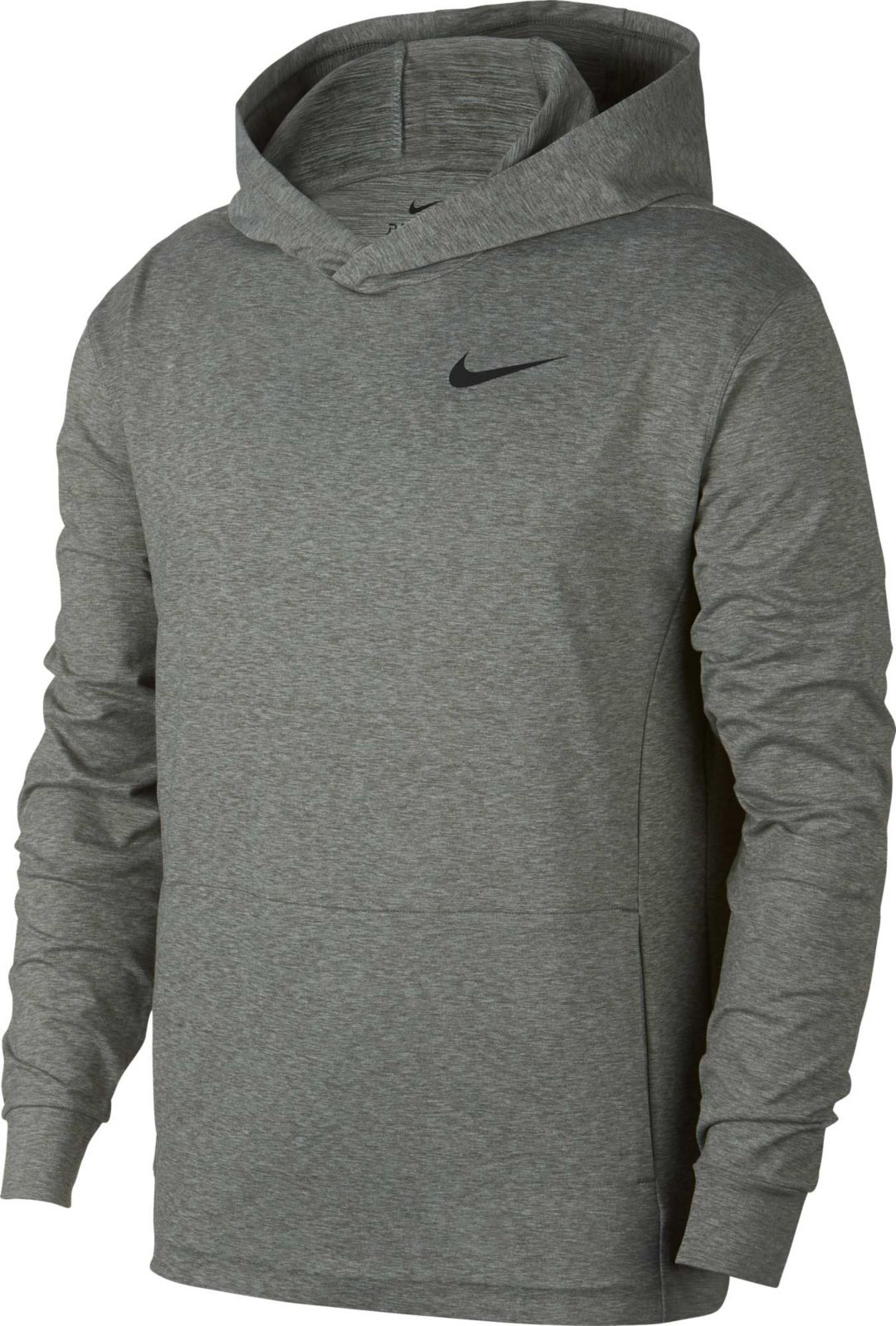 Nike Men's Dry Full Zip Training Hoodie XL Black Hooded Sweatshirt