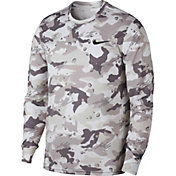 Nike Men's Dry Legend Camo Long Sleeve Tee