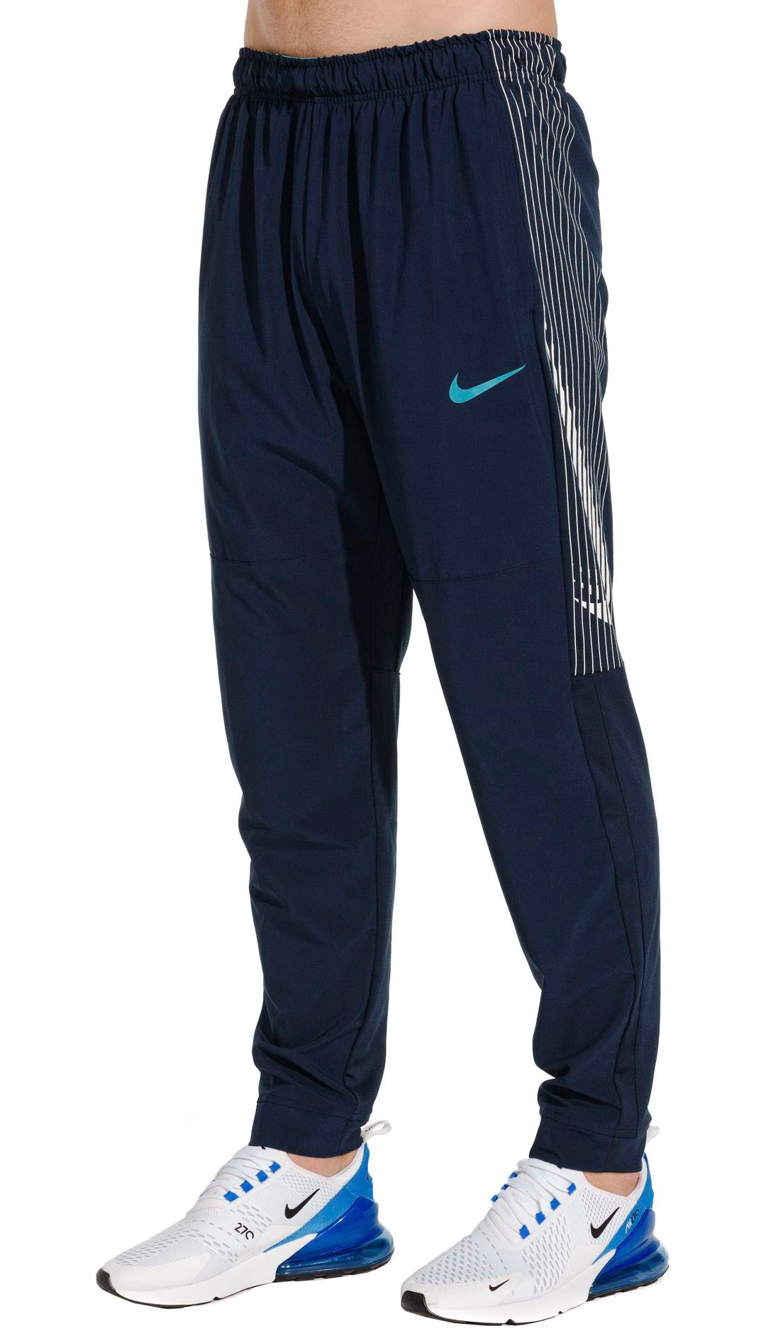 5f09dc32fa Nike Men's Dry Linear Vision Tapered Pants