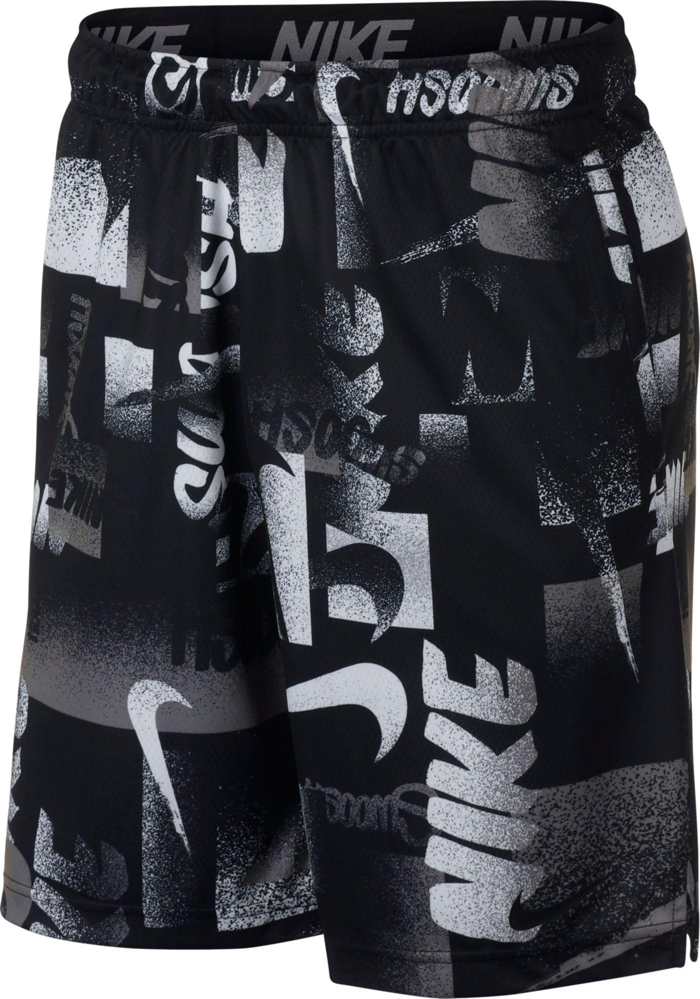 Nike Men's Dry Allover Print 4.0 Training Shorts