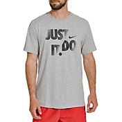 Nike Men's Dri-FIT Cotton Just Do It Graphic T-Shirt