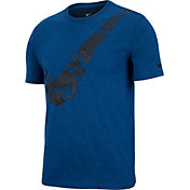 Nike Men's Dry Slub Swoosh Graphic T-Shirt