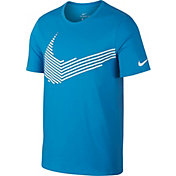 Nike Men's Dry Linear Swoosh Graphic T-Shirt