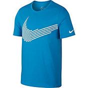Nike Men's Dry Linear Swoosh Graphic T-Shirt