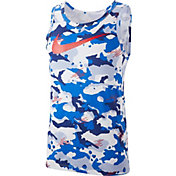 Nike Men's Dry Camo Swoosh Tank Top
