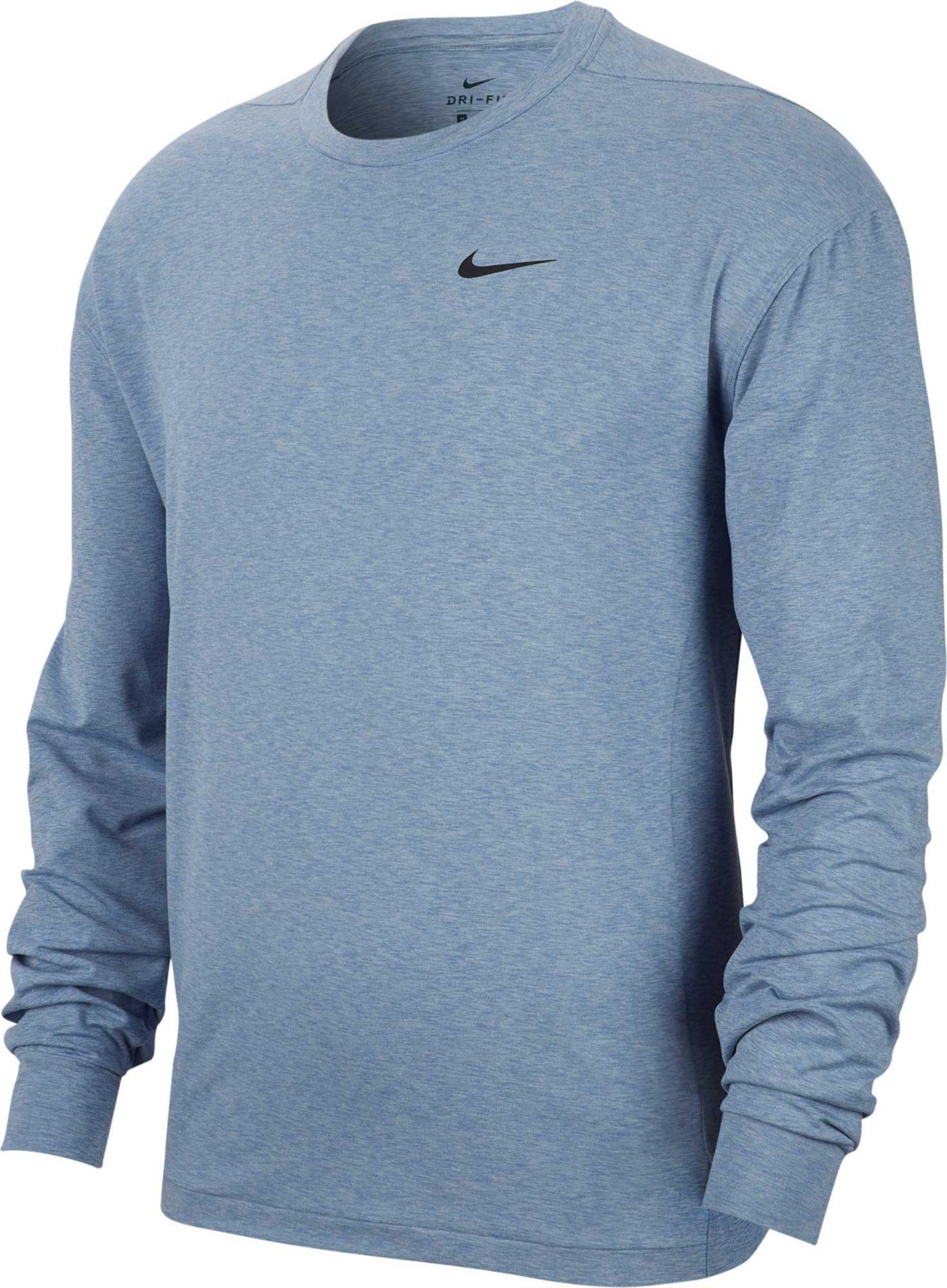 Nike Men's Hyper Dry Long Sleeve Tee