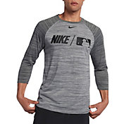 Nike Men's Dry MLB 3/4 Sleeve Baseball T-Shirt