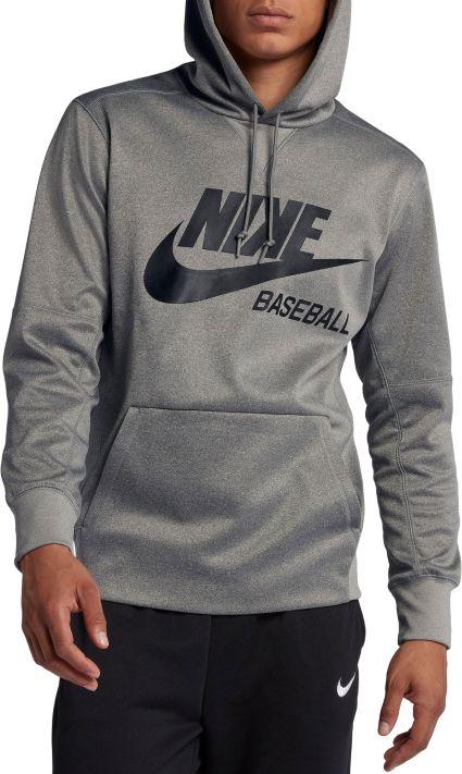 fe1e860375a960 Nike Men s Baseball Pullover Hoodie