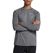 Nike Men's Element Crew Running Long Sleeve Tee