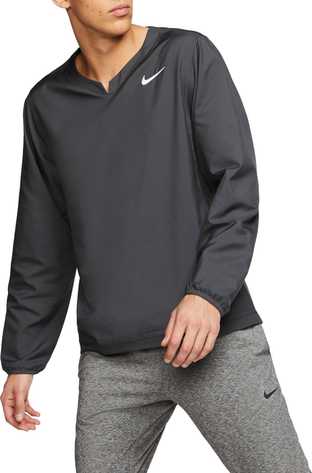 online store b4572 689bf Nike Men's Long-Sleeve Baseball Pullover Jacket