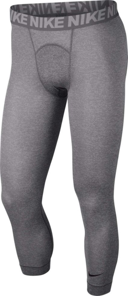 63ae3875642b0 Nike Men's 3/4 Length Utility Compression Tights | DICK'S Sporting Goods