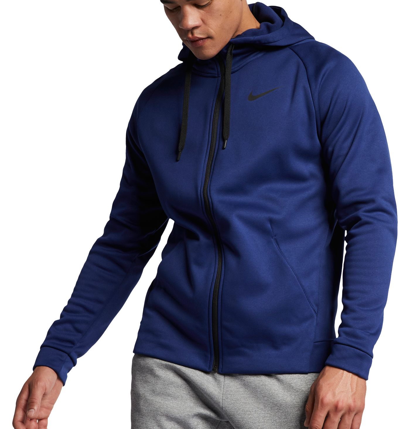 Nike Men's Therma Full Zip Hooded Jacket (Regular and Big & Tall)