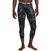 Nike Men's Pro 3/4 Length Camo Compression Tights